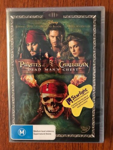 Pirates Of The Caribbean: Dead Man's Chest DVD New & Sealed Region 4