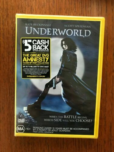 Underworld DVD New & Sealed Region 4