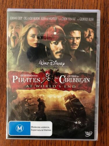 Pirates Of The Caribbean: At World's End DVD New & Sealed Region 4
