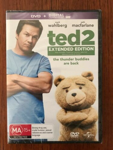 Ted 2 DVD New & Sealed Region 4