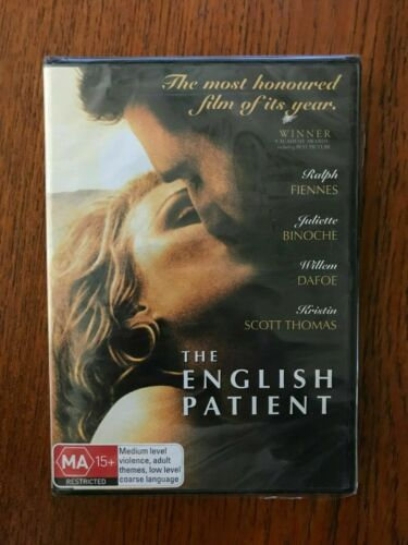 The English Patient DVD New & Sealed Region 4