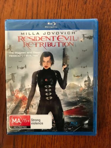 Resident Evil: Retribution Blu-ray New & Sealed Region Free