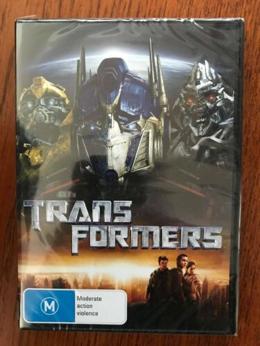 Transformers DVD New & Sealed Region 4