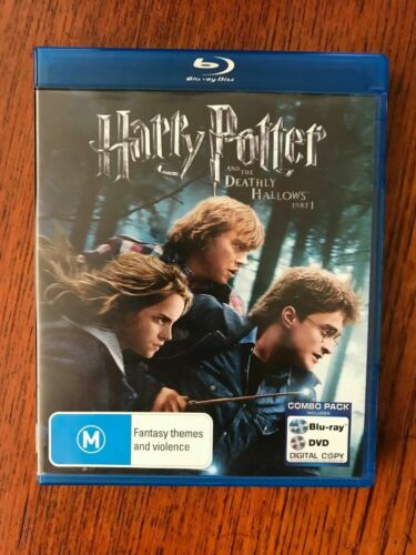 Harry Potter And The Deathly Hallows Part 1 Blu-ray Region Free Disc VGC