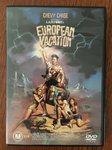 European Vacation DVD *Region 4 *Disc VGC *Chevy Chase
