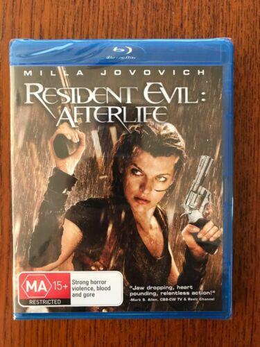Resident Evil: Afterlife Blu-ray New & Sealed Region Free