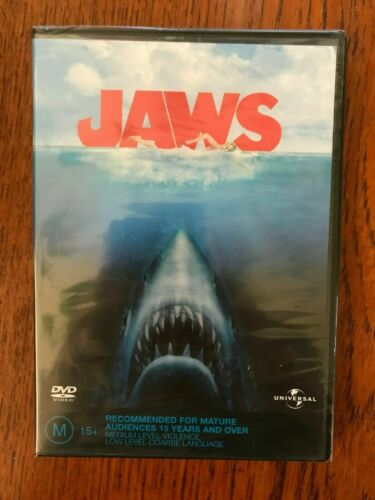 Jaws DVD New & Sealed Region 4