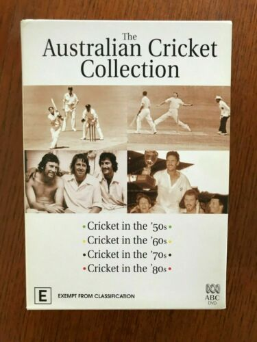 The Australian Cricket Collection DVD Region 4 Disc VGC LIKE NEW