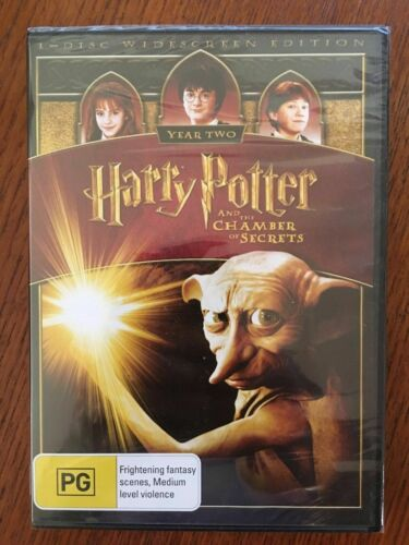 Harry Potter And The Chamber Of Secrets DVD Widescreen New & Sealed Region 4