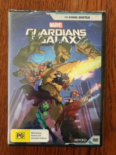 Marvel Guardians Of The Galaxy: The Final Battle DVD New & Sealed Region 4