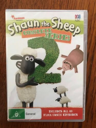 Shaun The Sheep: Complete Series 2 DVD New & Sealed Region 4