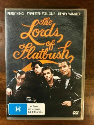 The Lord Of Flatbush DVD New & Sealed Region 4 Perry King, Sylvester Stallone