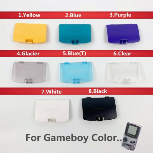 New Replacement Battery Cover For Nintendo Gameboy Color GBC