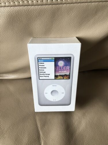 Apple iPod Classic 160GB, new, factory sealed. Silver.