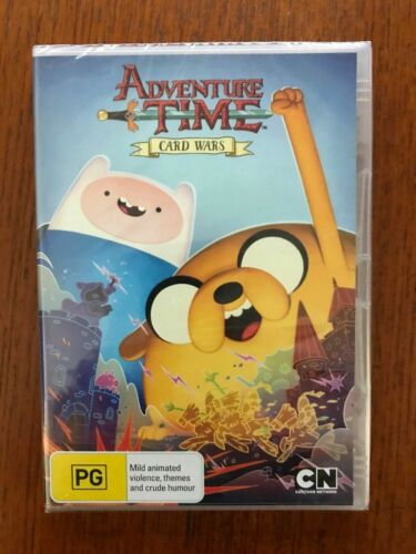 Adventure Time: Card Wars DVD Region 4 New & Sealed
