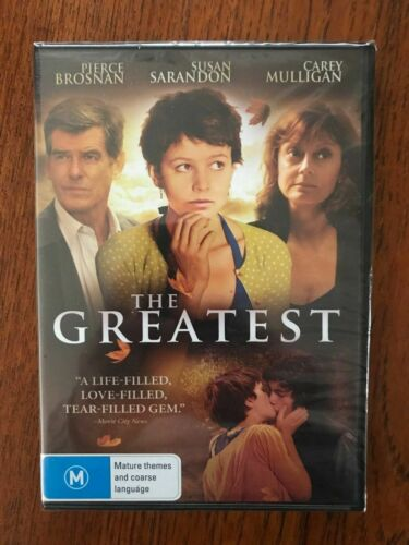 The Greatest DVD Region 4 New & Sealed Pierce Brosnan