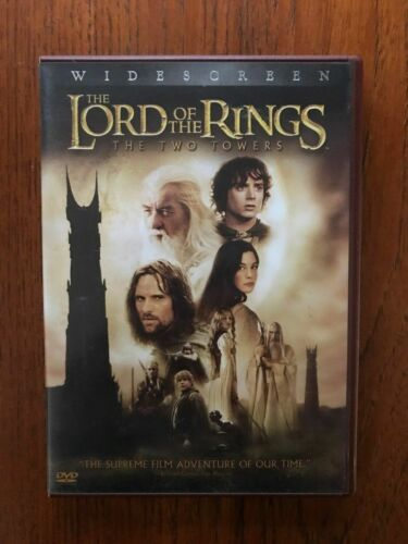 The Lord Of The Rings: The Two Towers DVD 2 Disc Set Region 4 Disc's VGC