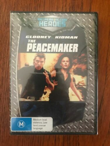 The Peacemaker DVD Region 4 New & Sealed George Clooney, Nicole Kidman
