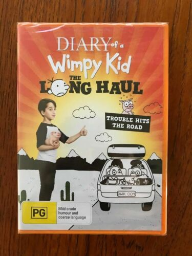 Diary Of A Wimpy Kid: The Long Haul DVD Region 4 New & Sealed