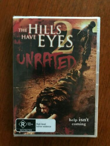 The Hills Have Eyes 2 Unrated DVD Region 4 New & Sealed
