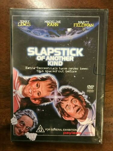Slapstick Of Another Kind DVD Region 4 New & Sealed Jerry Lewis