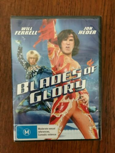 Blades Of Glory DVD Region 4 New & Sealed Will Ferrell, Jon Heder