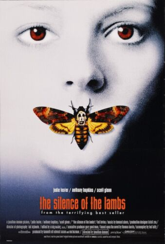 THE SILENCE OF THE LAMBS - CLASSIC MOVIE POSTER - 24x36 - 53994
