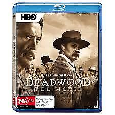 DEADWOOD THE MOVIE BLU-RAY, NEW & SEALED, 2019 RELEASE, FREE POST