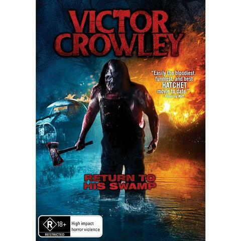 VICTOR CROWLEY DVD, NEW & SEALED, 2019 RELEASE, FREE POST.