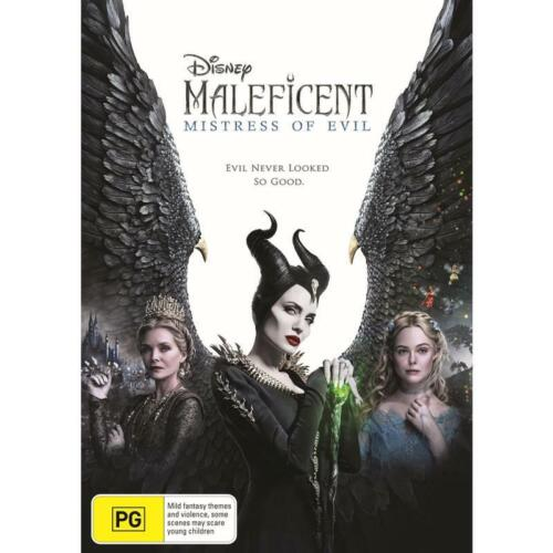 MALEFICENT MISTRESS OF EVIL DVD, NEW & SEALED, 2020 RELEASE, FREE POST