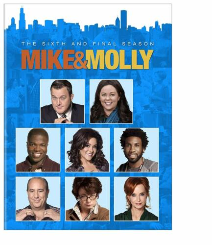 MIKE & MOLLY - The Complete Series Season 6 Final DVD Region 4 New & Sealed AND