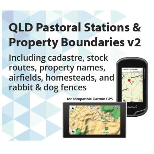QLD Pastoral Stations MicroSD - GPS Express (QLDPASTORALV2)