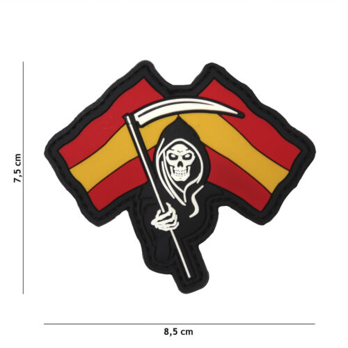 Morale Patch 3D PVC Spanish Reaper airsoft softair españa spain skull Parches - 4725