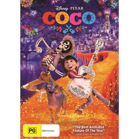 COCO DVD, NEW & SEALED, 2018 RELEASE, FREE POST