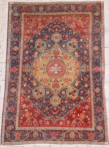 ANTIQUE SARUKH RUG (C008)