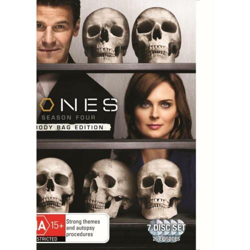BONES - Season Four (7 DISC DVD SET) *BODY BAG EDITION*