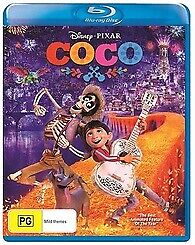 COCO BLU RAY - NEW & SEALED DISNEY, PIXAR , 2 DISC EDITION FREE POST