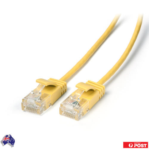 Ultra Slim Cat6 Network Cable UTP 28AWG 2M AU Stock
