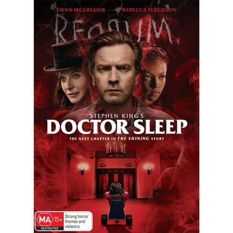 DOCTOR SLEEP DVD, BRAND NEW & SEALED ** NEW RELEASE **  FREE POST.