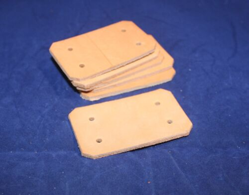 """Leather Ice Chest Hinges - 1 1/2"""" x 2 1/2"""" - Pack of (E3)"""