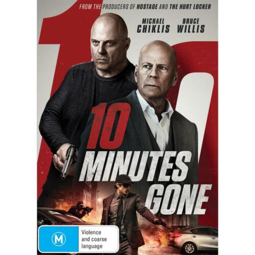 10 MINUTES GONE DVD, NEW & SEALED, 2019 RELEASE, FREE POST