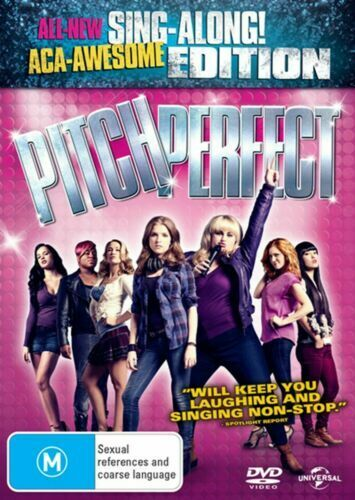 PITCH PERFECT - SING-ALONG! EDITION (REGION 4 DVD) *New & Sealed*