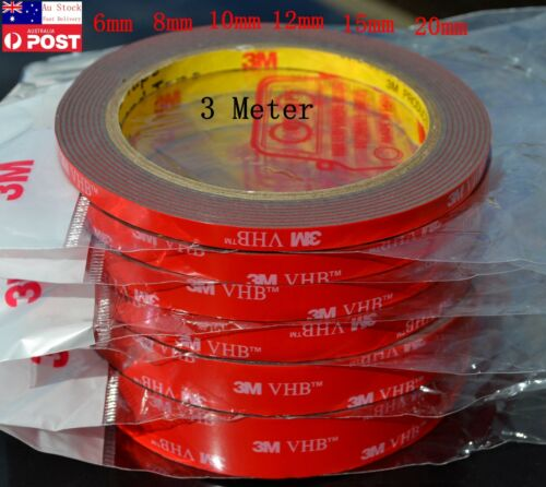 3M VHB™ 5952 Double Sided Tape Automotive Car Extra Adhesive Sticky (6mm--20mm)