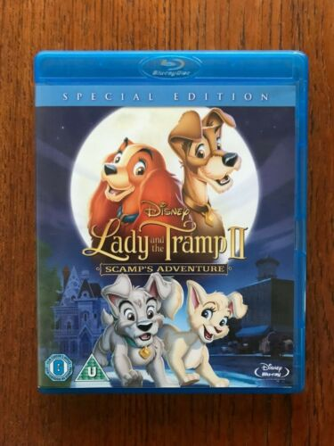 Lady And The Tramp II Blu-ray Special Edition Region Free Disc VGC
