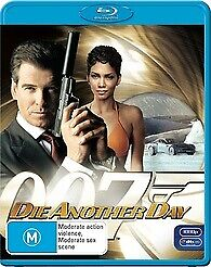 DIE ANOTHER DAY BLU RAY - NEW & SEALED PIERCE BROSNAN, JAMES BOND 007 FREE POST