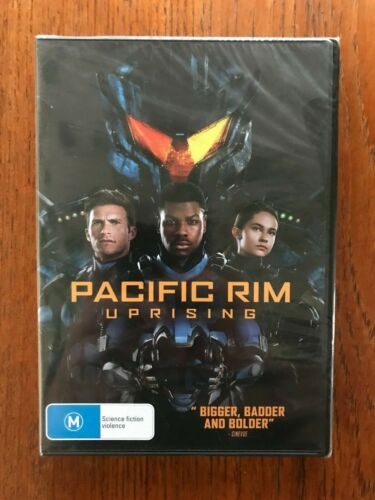 Pacific Rim: Uprising DVD Region 4 New & Sealed