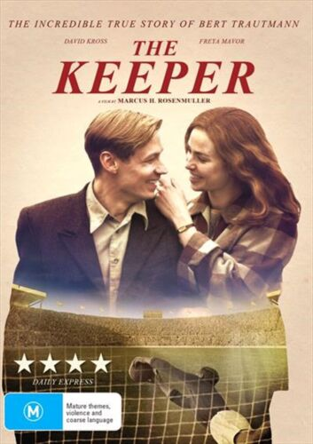 THE KEEPER DVD, NEW & SEALED, 2019 RELEASE, FREE POST