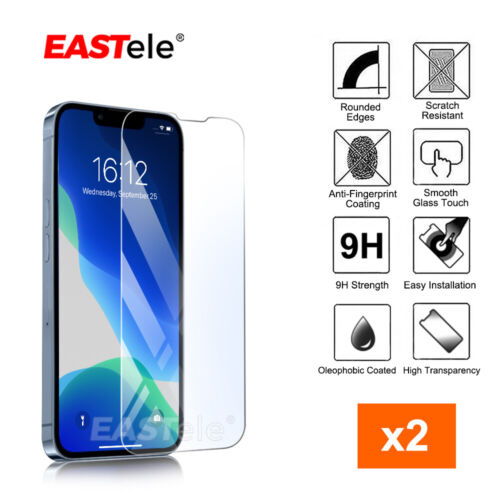 2x iPhone 12 11 Pro Max XS Max XR SE 8 Tempered Glass Screen Protector For Apple <br/> 🔥SYD STOCK🔥Case Friendly🔥9H🔥HD Clear🔥RRP 18.99🔥
