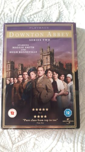 DOWNTOWN ABBEY EXCLUSIVE EDITION SERIES 2.  4 DVDS. 2011. PLAYBACK. VGC.