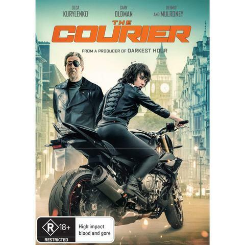THE COURIER DVD, NEW & SEALED, ** NEW RELEASE** FREE PRIORITY POST.